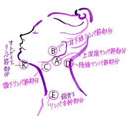 インフルエンザ 首の腫れ