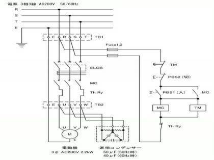 単三200v2.2kwのモーター制御について