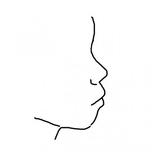 私は自分の横顔が大嫌いです。 写真のような感じで、口が前に出ている ...