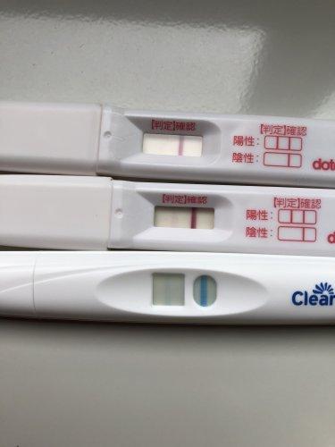 陽性 陰性 妊娠検査薬