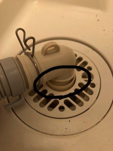 洗濯 機 排水 口 取り付け