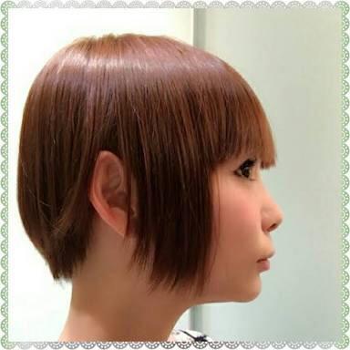 「絶壁頭の人がこういう髪型だと変ですかね?」の