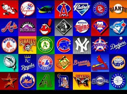 プロ野球チームのロゴマーク?について -メジャーリーグのロゴマーク ...