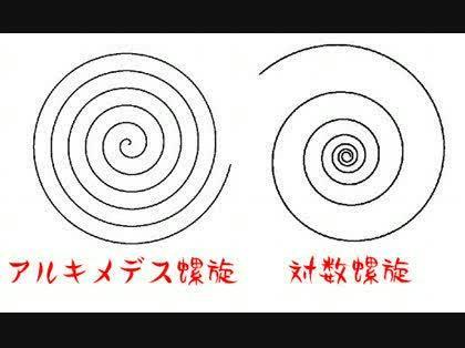 螺旋 対数