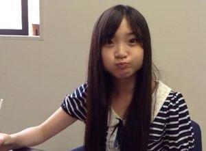 女子高生スタイルの有安杏果さん