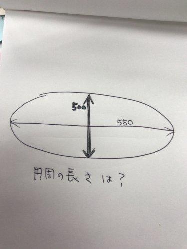 求め 円 方 周