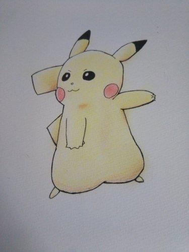 前に色鉛筆でリアルな絵を描きたいと質問したものなんですが今度はピ