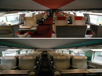 列車の1等車・2等車の違い -スイス・フランスの国内列車、国際列車 ...