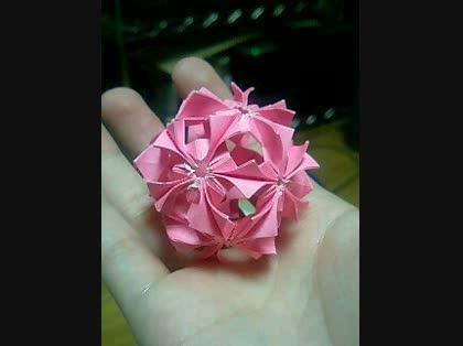 折り紙 難しい くす玉