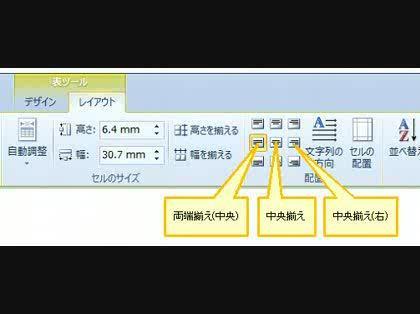 真ん中 文字 に の 表 ワード Word 2016:表の挿入と編集|表のまわりに文字列を折り返すには