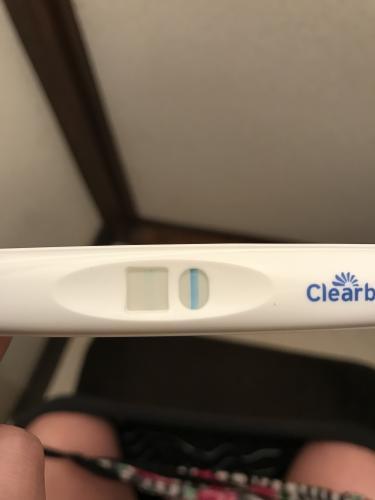 陰性 クリアブルー 高温期11日目