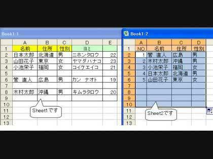Excel関数で、名簿を五十音順に並べ替える。 -Excel関数で ...