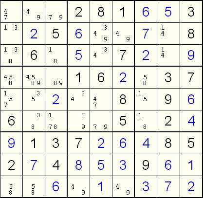 独 解き方 数