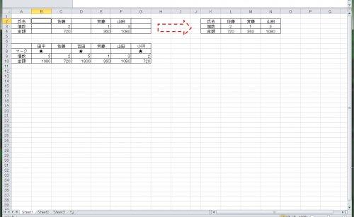 エクセル関数 空白 関数あり の列を削除し 左に詰めたい エクセル