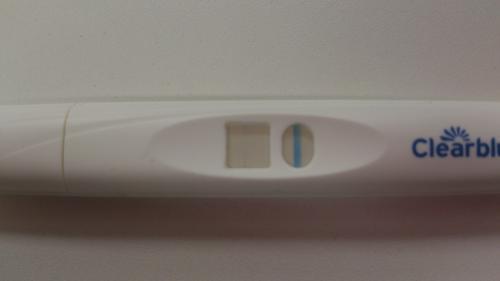 細い線 妊娠していた クリアブルー