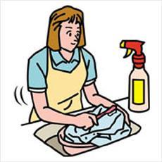 洋服に付いた油汚れを簡単に落とす方法