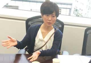 矢島晶子さんとの縁を語る小林さん