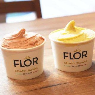 毎日店内で手作り! イタリア発のハンドメイドジェラート「FLOR」が日本初上陸