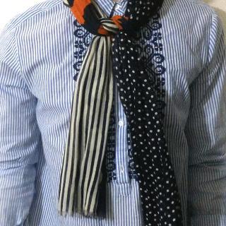 【春のおでかけに!】スカーフ&ストールのカンタン巻き方アレンジ♪