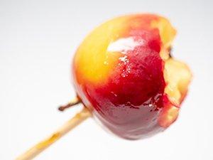 ロキット アップルはりんご飴にしても美味しい
