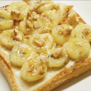 【おやつに最適!】ローラの焼きバナナトースト