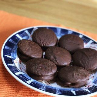 【エンゼルパイもどき?】超簡単チョコクッキーパイ