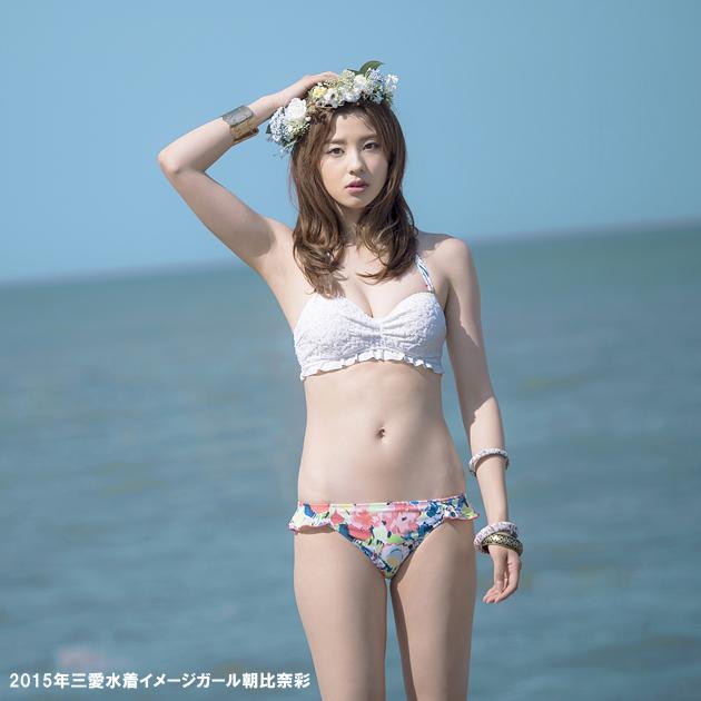吉川麻衣子さんの水着