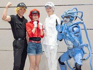 左から、君沢ユウキさん、七木奏音さん、和田雅成さん、馬場良馬さん