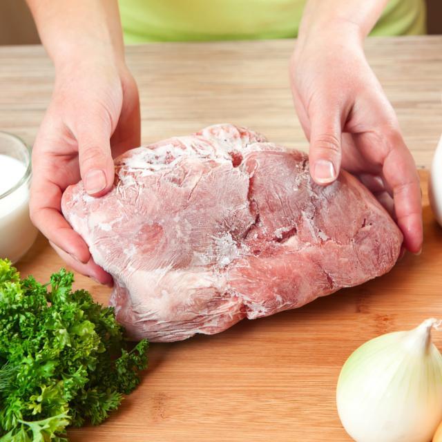 再 解凍 した 冷凍 肉