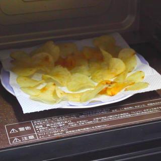 【パリパリカムバック!】湿気たポテトチップスを復活させる方法