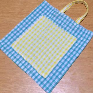 【手縫い不要で簡単!】100均キッチンクロスで作るエコバッグ