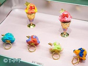 「プリティガーディアンアイスクリーム リング&ワッフルコーンスタンド」