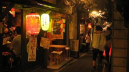 "Time-trip like experience!! Stroll around ""Omoide Yokocho"" out of Shinjuku west exit"