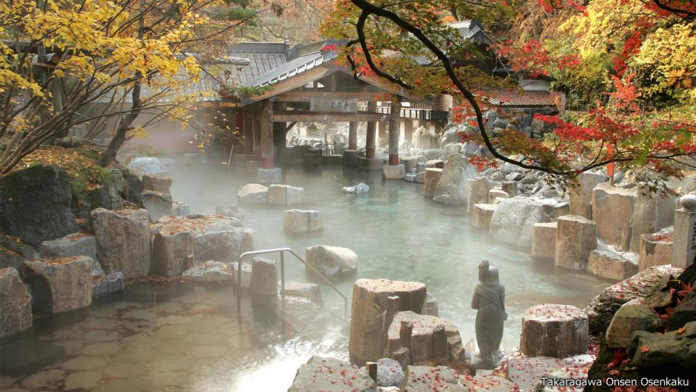 "Japan Onsen list where you can enjoy ""the world most beautiful"" Japanese autumn leaves"