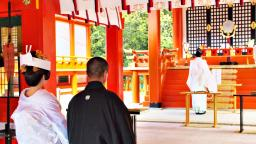 Japanese culture experience : Japanese traditional wedding ceremony