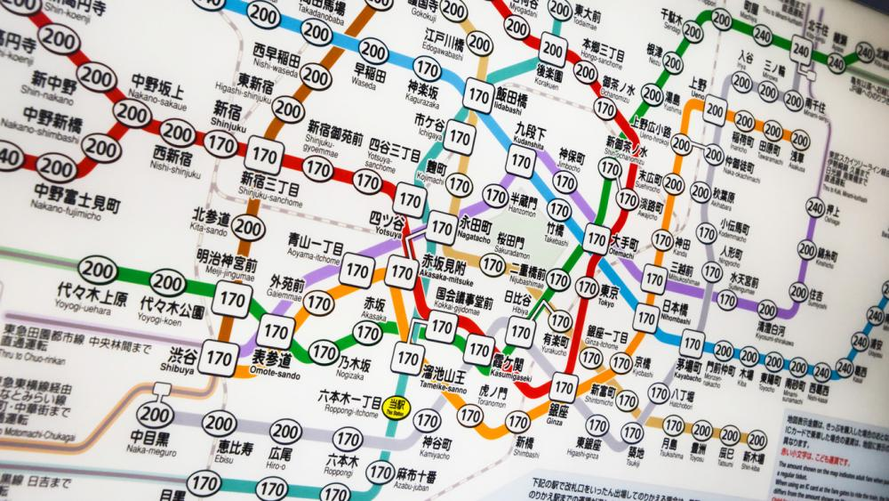 Toei Subway Map Pdf.Japan S Major Cities Railway Maps Summary In Chinese English