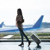空港でのチェックイン